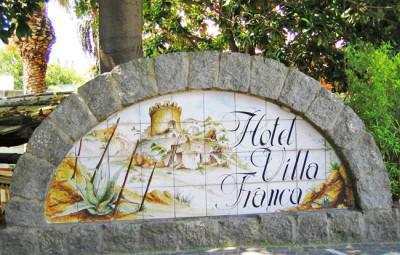 Hotel Villa Franca Forio Ischia